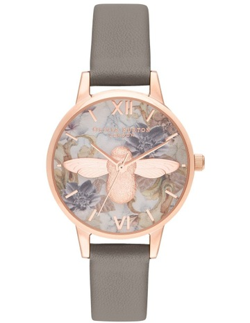 9e38f68212806 Olivia BurtonOB16CS19 Marble Florals Rose Gold Watch. Olivia Burton  OB16CS19 Marble Florals Rose Gold Watch