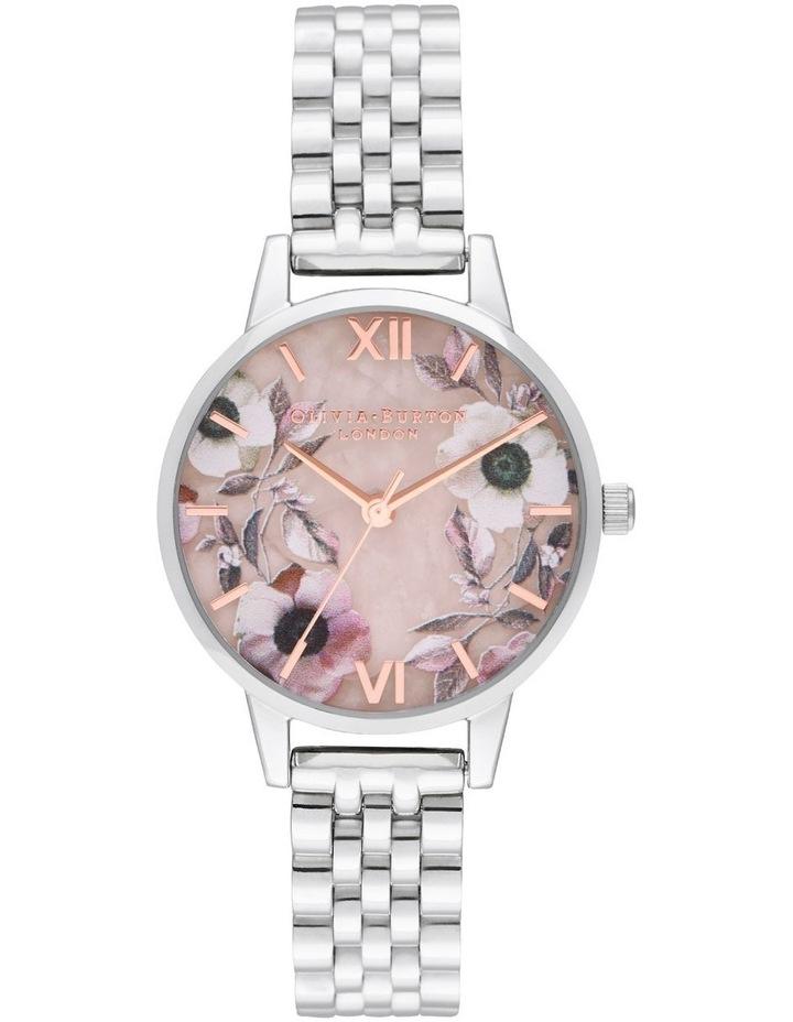 OB16SP07 Semi Precious Silver Watch image 1
