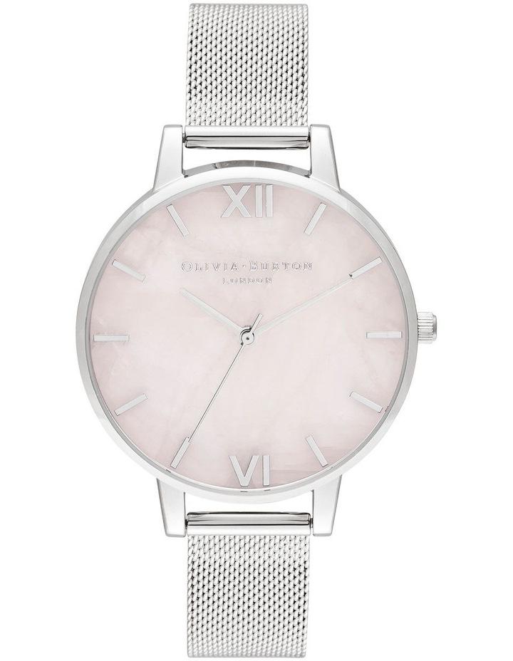 OB16SP18 Semi Precious Silver Watch image 1