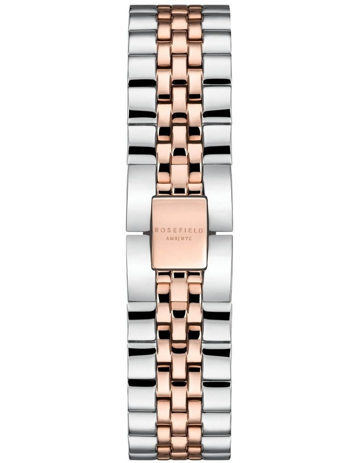 Rosefield QVSRD-Q014 The Boxy 2 Tone Watch image 2