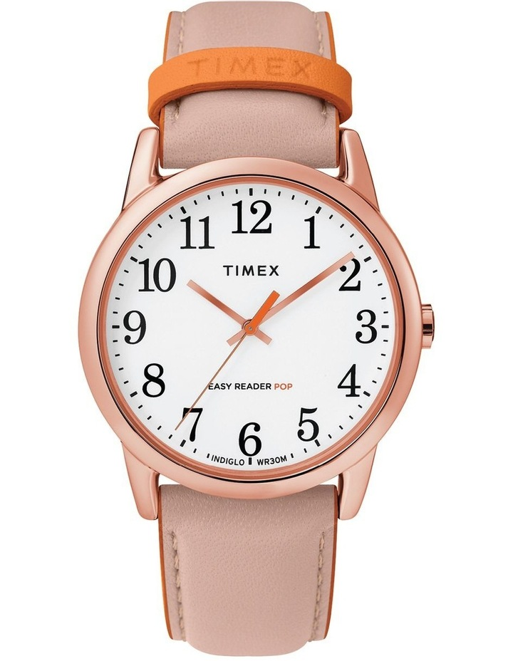 Timex TW2T28600 Easy Reader Rose Gold-Tone Watch image 1