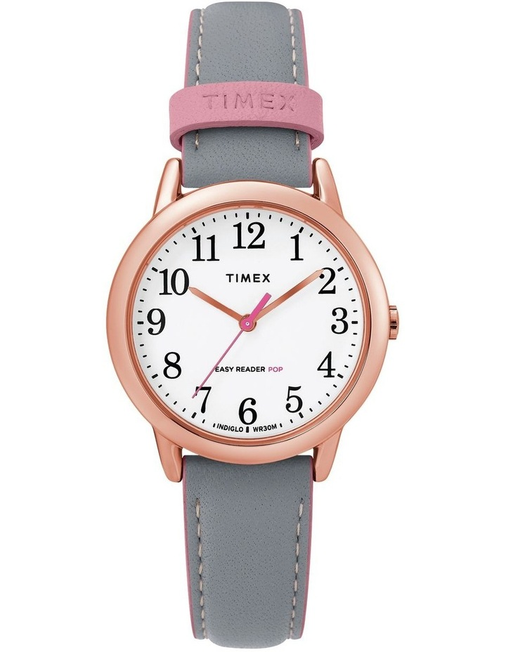 Timex TW2T28700 Easy Reader Rose Gold-Tone Watch image 1
