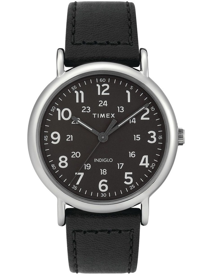 Timex TW2T30700 Weekender Silver-Tone Watch image 1