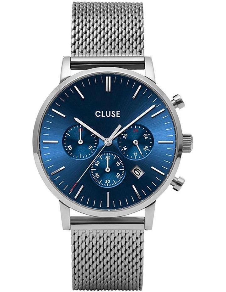 CLUSE Aravis CW0101502004 Silver Men's Watch image 1