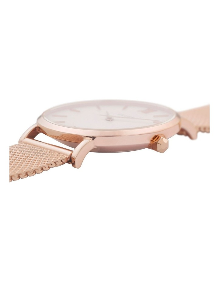 CLUSE Minuit CW0101203001 Mesh Rose Gold-White Watch image 2
