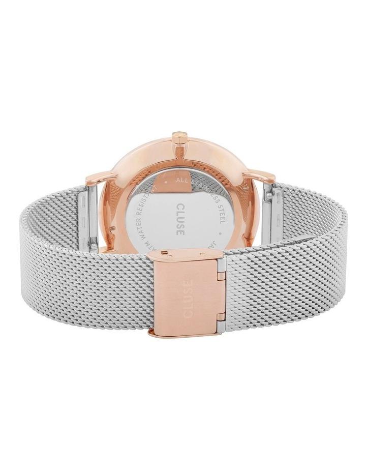 CLUSE La Boheme CW0101201006 Mesh Rose Gold-Silver Watch image 3