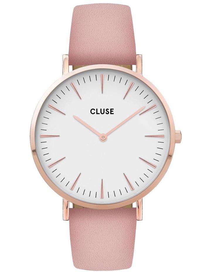 CLUSE La Boheme CW0101201012 Rose Gold White-Pink Watch image 1