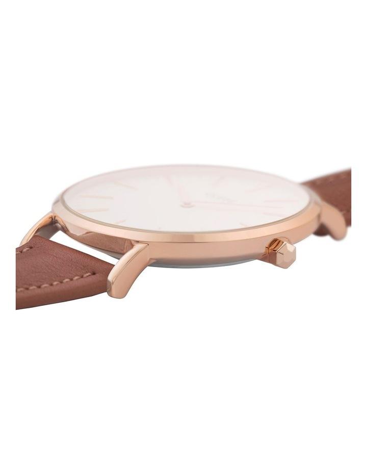CLUSE La Boheme CW0101201017 Rose Gold White-Caramel Watch image 2