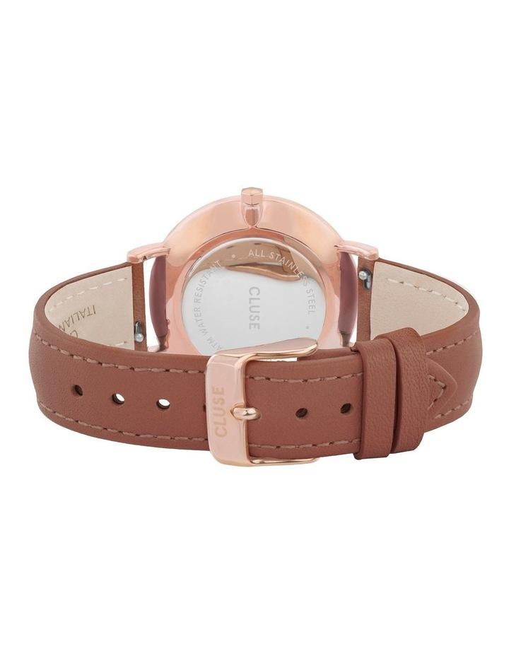 CLUSE La Boheme CW0101201017 Rose Gold White-Caramel Watch image 3