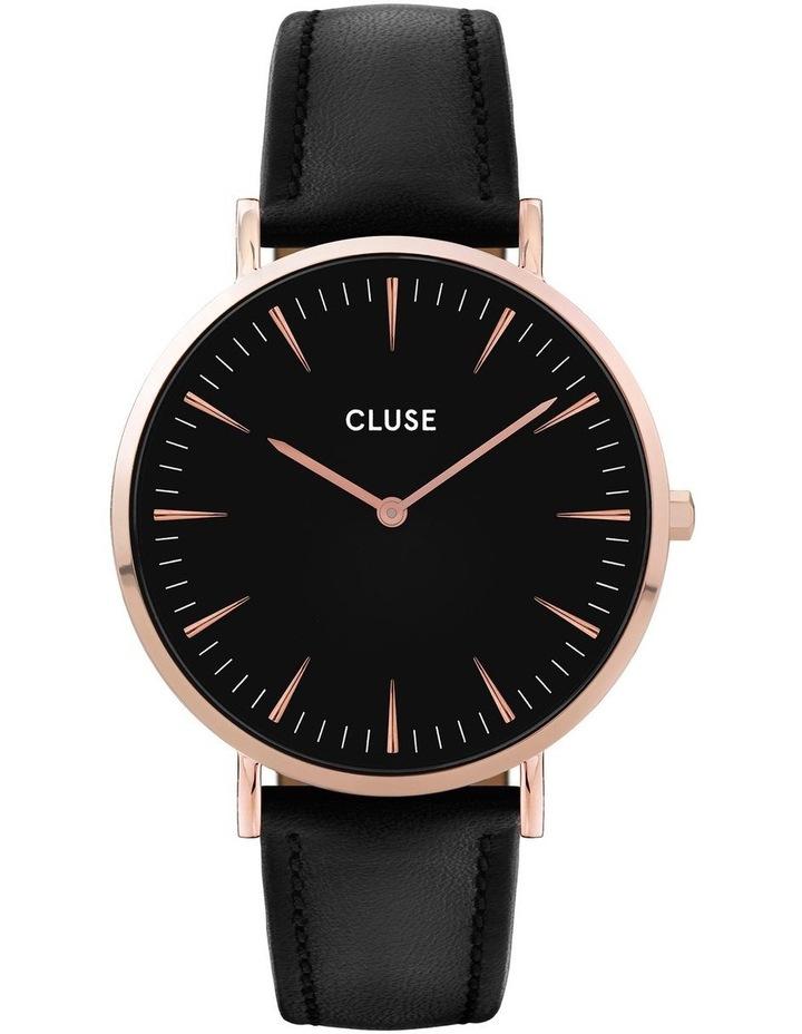CLUSE La Boheme CW0101201011 Rose Gold Black-Black Watch image 1