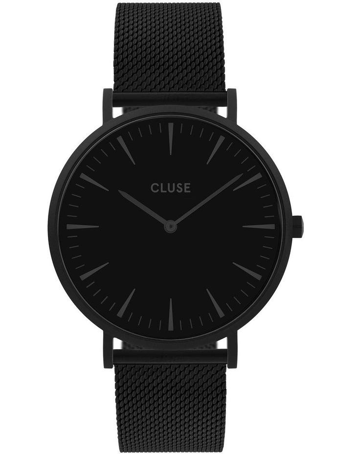 CLUSE La Boheme CW0101201005 Mesh Full Black Watch image 1