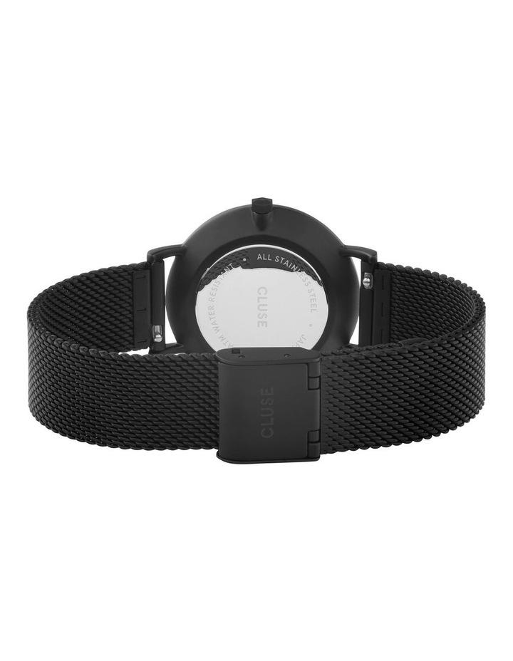 CLUSE Minuit CW0101203012 Mesh Full Black Watch image 3