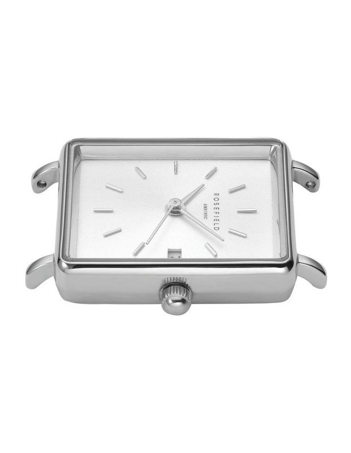QMWSS-Q020 The Mini Boxy White Sunray Steel Silver image 2