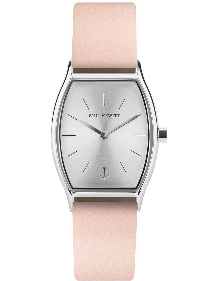PH-T-S-SS-30S Modern Edge Nude Leather Watch image 1