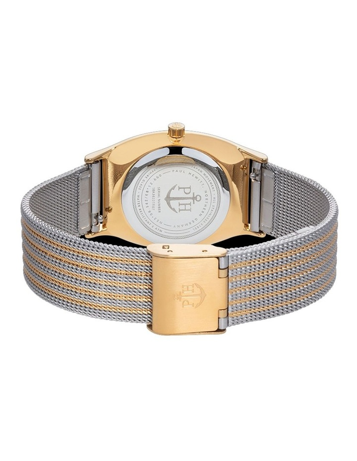 PH-T-GG-SS-44S Modern Edge Silver IP Gold Watch image 2