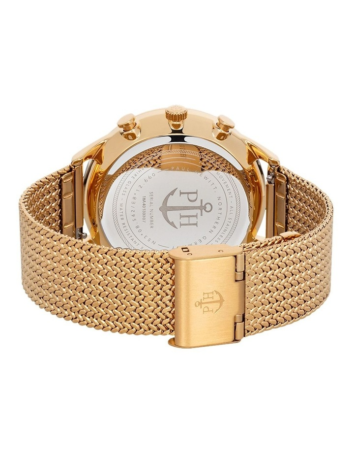 PH-C-G-W-50S Chrono Line Gold Mesh Watch image 2