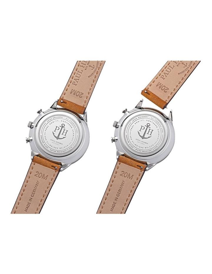 PH-C-S-W-49M Chrono Line Mustard Leather Watch image 4