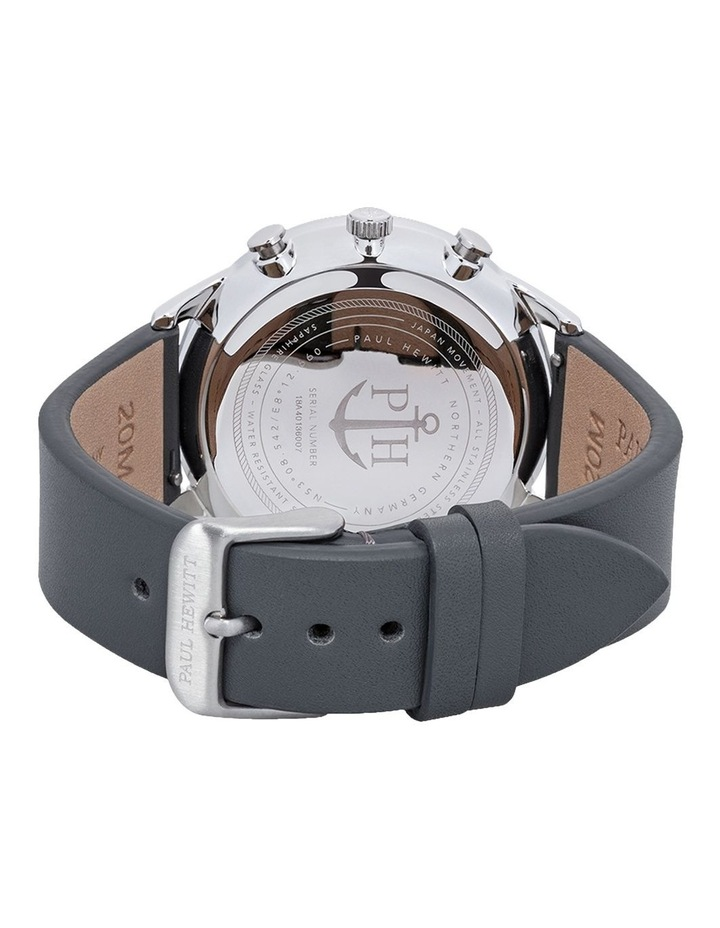 PH-C-S-M-48M Chrono Line Grey Leather Watch image 2