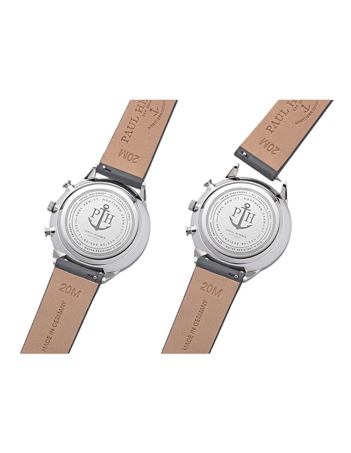 PH-C-S-M-48M Chrono Line Grey Leather Watch image 4