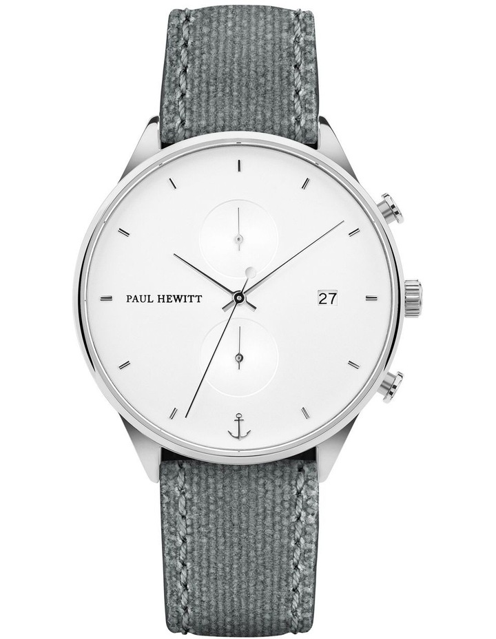 PH-C-S-W-51M Chrono Line Canvas Grey Watch image 1