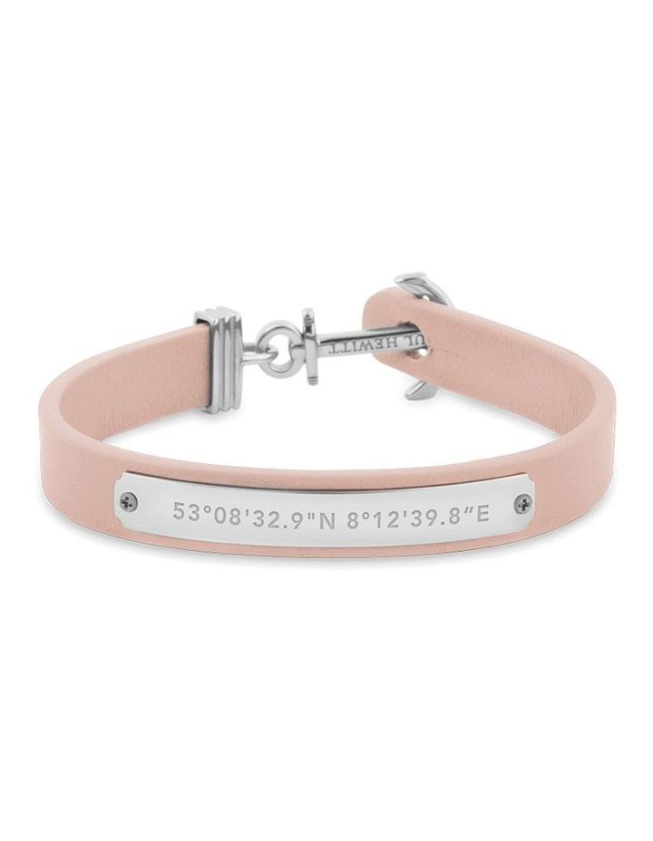 PH-FSC-S-N-L Signum Leather Bracelet SS / Nude image 1