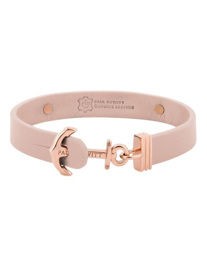 PH-FSC-R-N-S Signum Leather Bracelet Rose Gold / Nude image 2