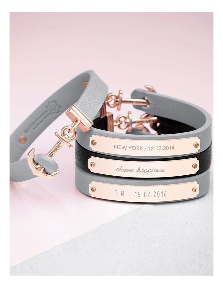 PH-FSC-R-N-S Signum Leather Bracelet Rose Gold / Nude image 3