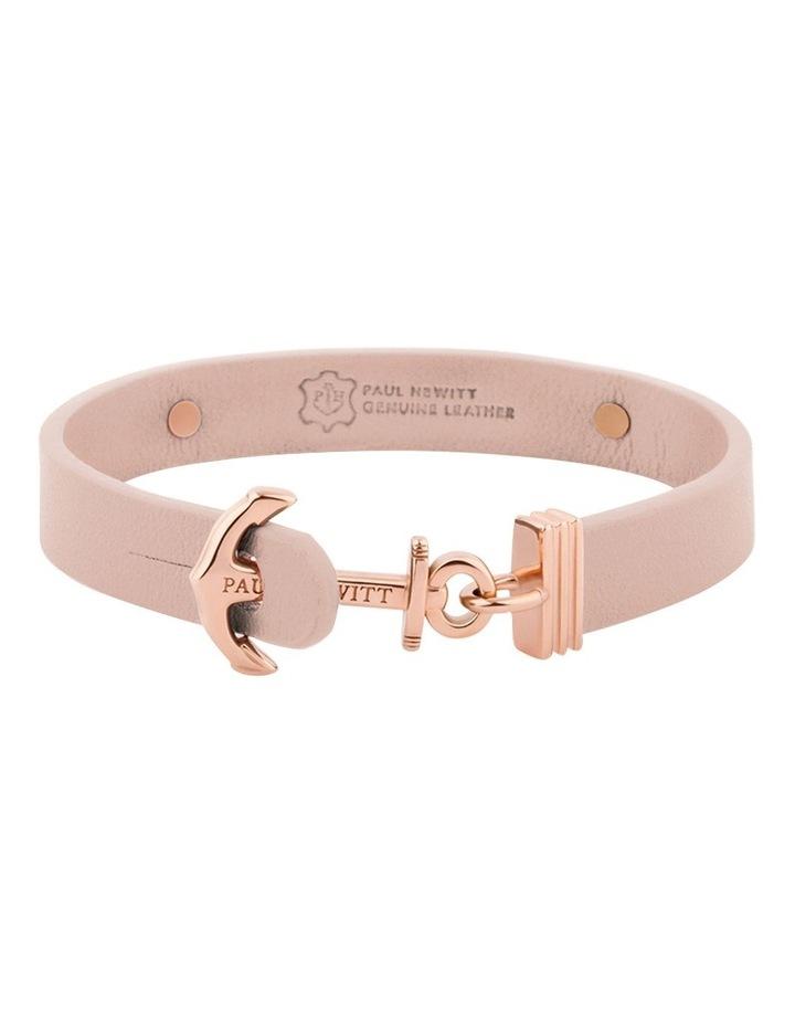 PH-FSC-R-N-M Signum Leather Bracelet Rose Gold / Nude image 2