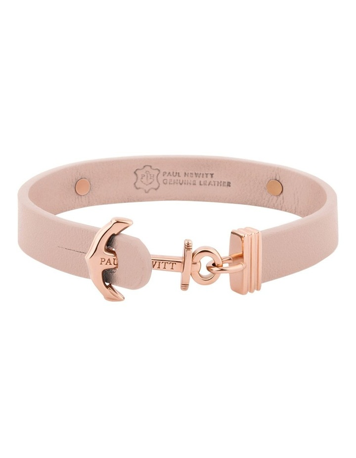 PH-FSC-R-N-L Signum Leather Bracelet Rose Gold / Nude image 2