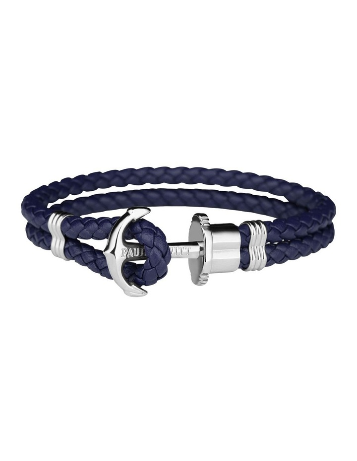 PH-PH-L-S-N-L Phrep SS / Navy Blue Leather image 1