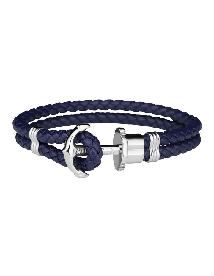 PH-PH-L-S-N-S Phrep SS / Navy Blue Leather image 1