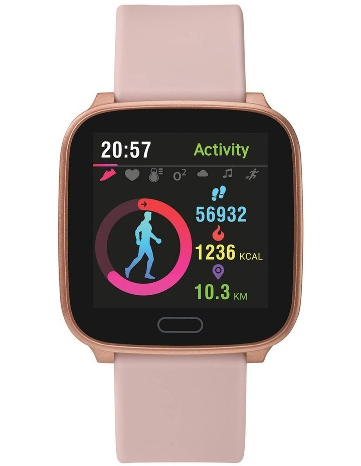 iConnect Active Pink Resin Smart Watch TW5M34400 image 1