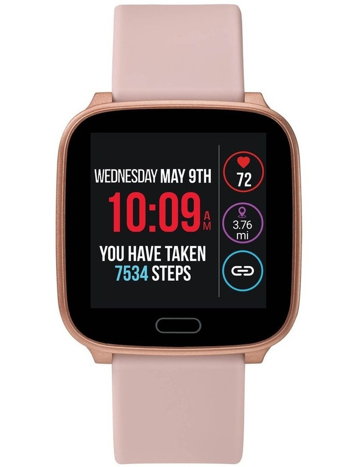 iConnect Active Pink Resin Smart Watch TW5M34400 image 2