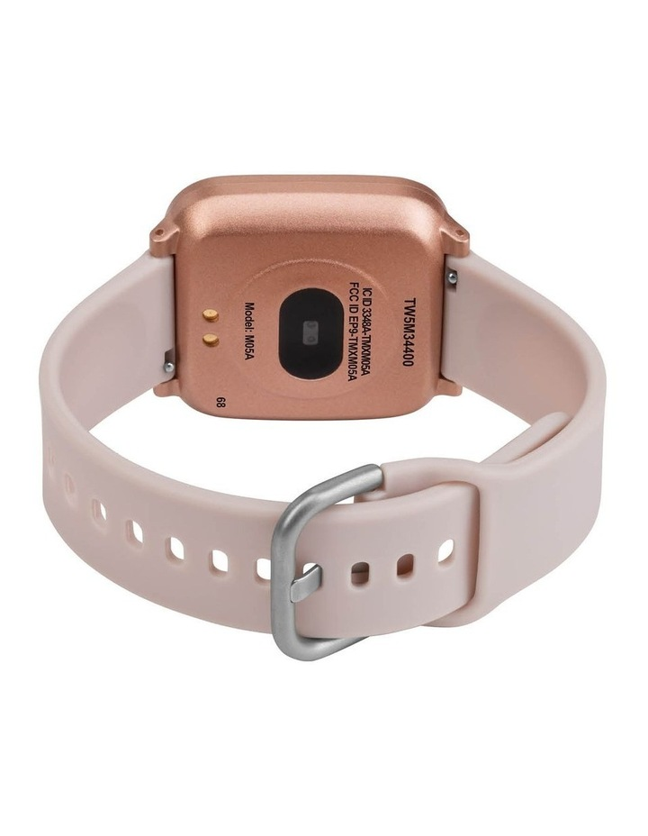iConnect Active Pink Resin Smart Watch TW5M34400 image 5