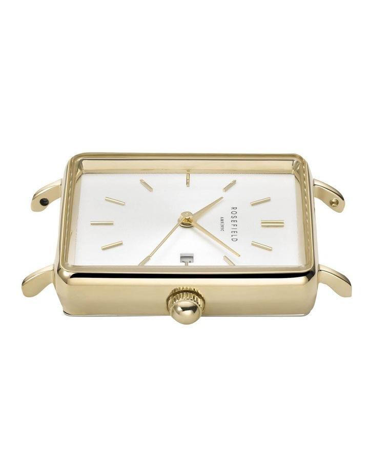QMWMG-Q039 The Mini Boxy Gold Tone Mesh Watch image 3
