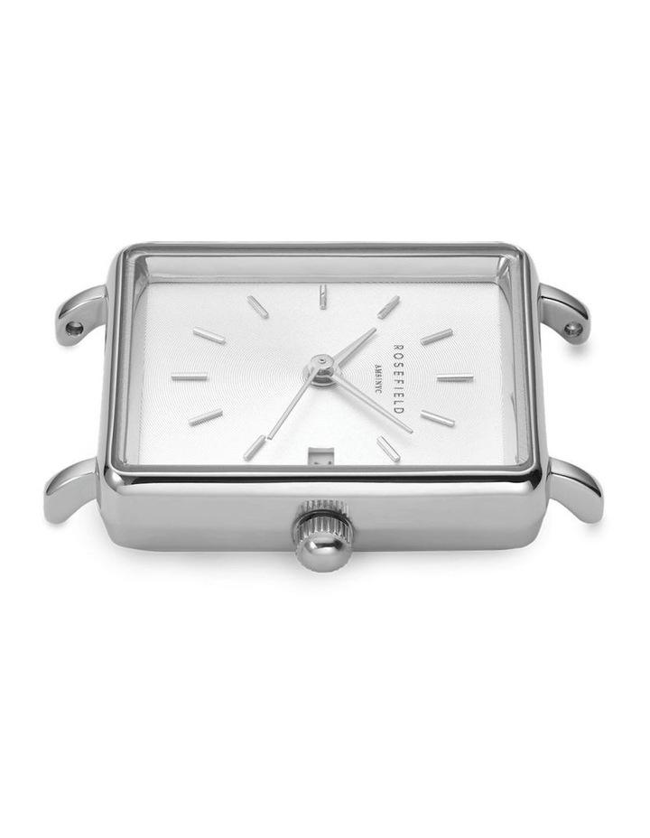 QMWMS-Q038 The Mini Boxy Silver Tone Mesh Watch image 4