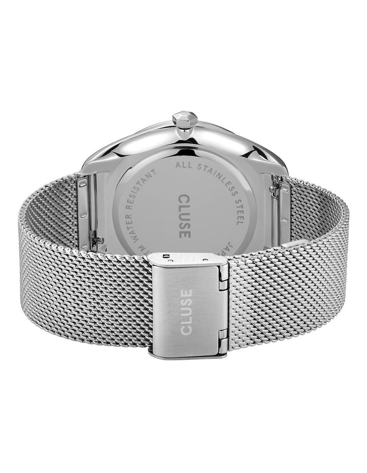CLUSE Feroce CW0101212001 Silver Mesh/White Watch image 3