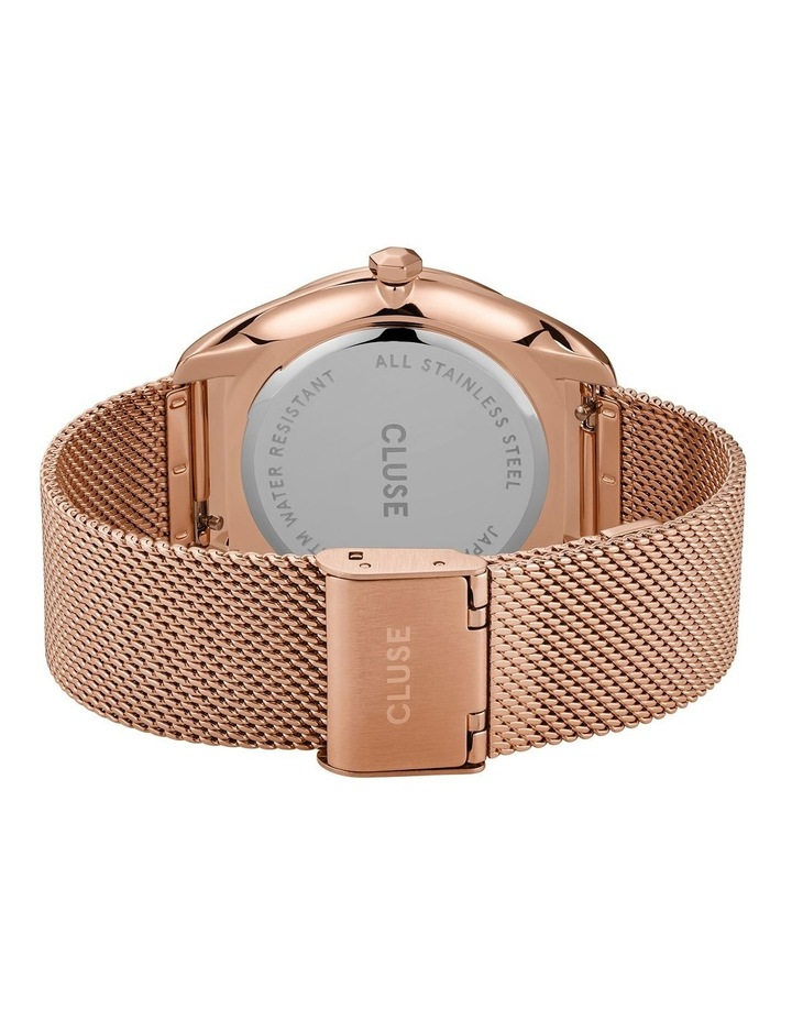CLUSE Feroce CW0101212002 Rose Gold Mesh/White Watch image 3