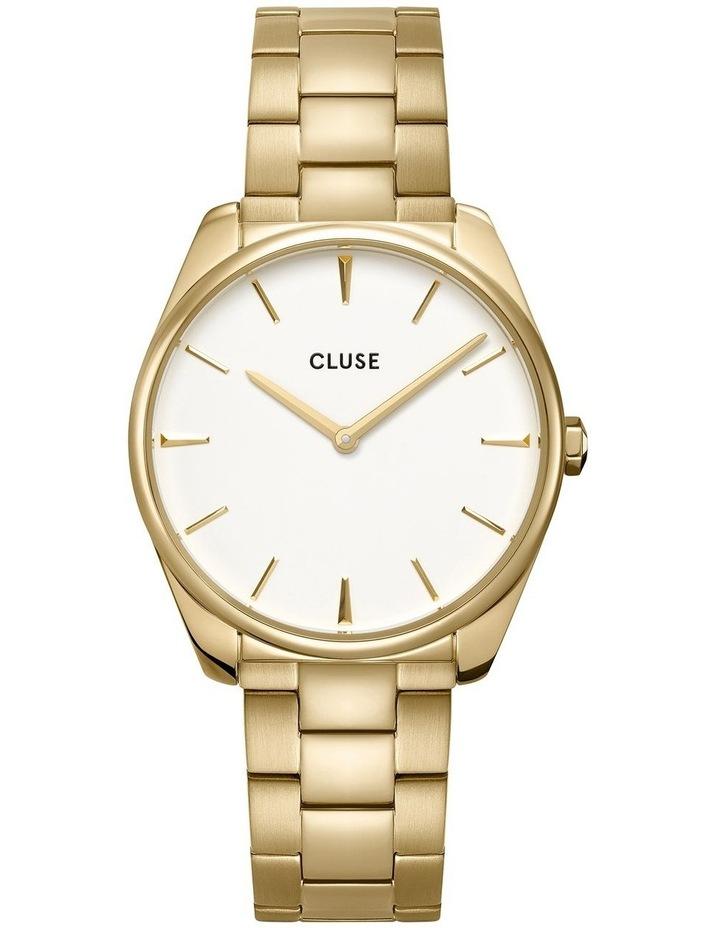 Feroce CW0101212005 Gold 3 Link/White Watch image 1