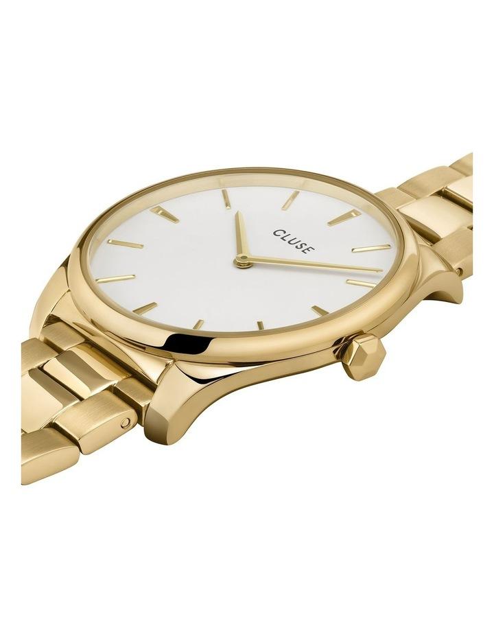 Feroce CW0101212005 Gold 3 Link/White Watch image 2