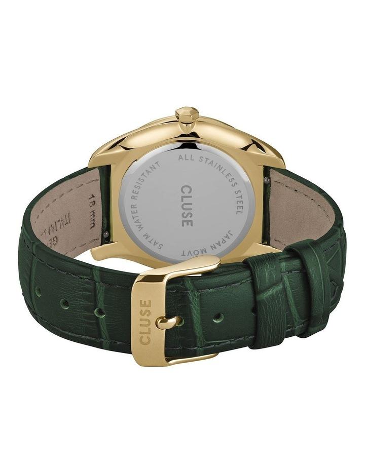 Feroce CW0101212006 Gold/Forest Green Croc Watch image 3