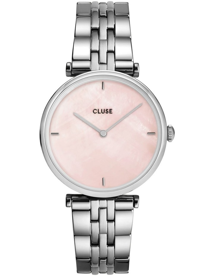 Triomphe CW0101208013 5-Link Salmon Pink Pearl/Silver Watch image 1