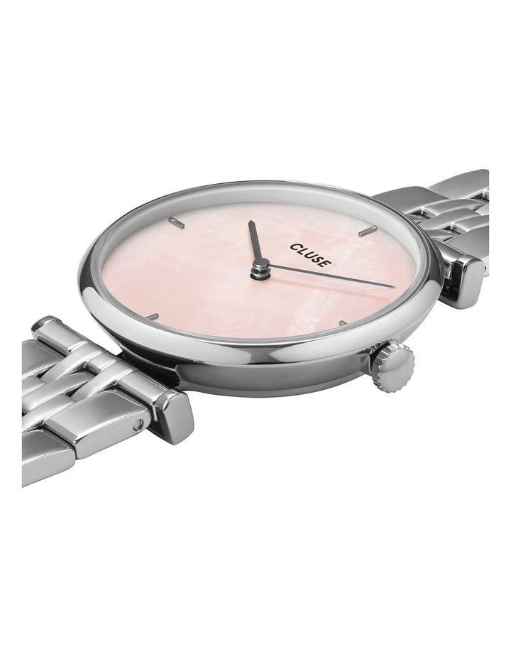 Triomphe CW0101208013 5-Link Salmon Pink Pearl/Silver Watch image 2