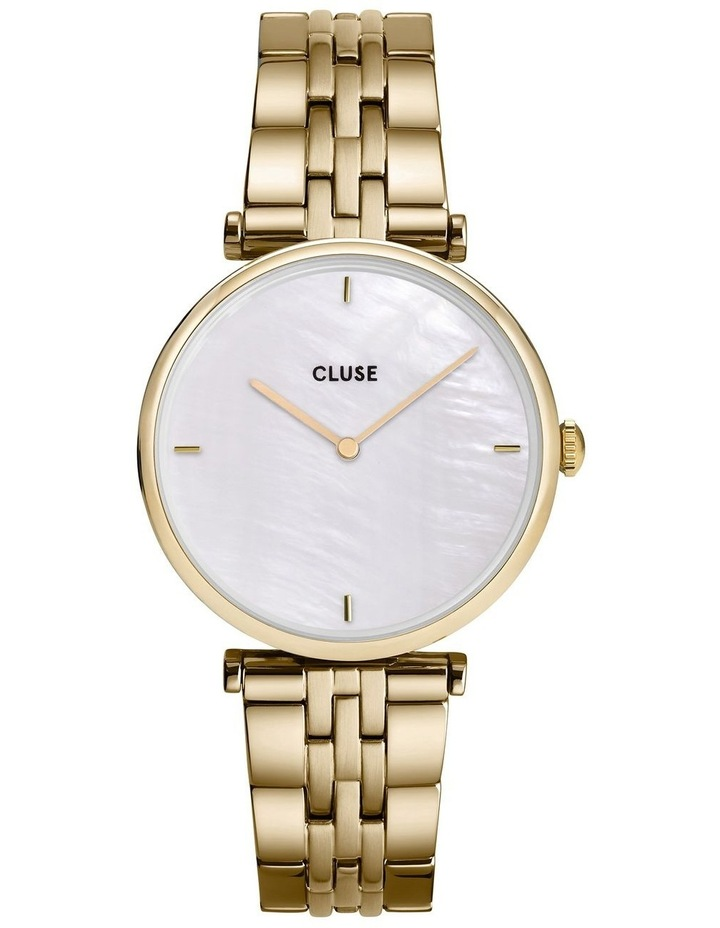 Triomphe CW0101208014 5-Link White Pearl/Gold Watch image 1