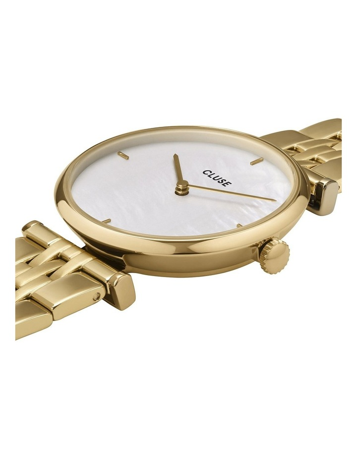 Triomphe CW0101208014 5-Link White Pearl/Gold Watch image 2