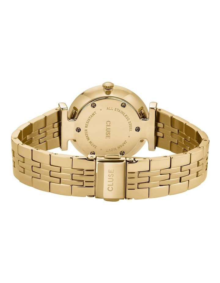Triomphe CW0101208014 5-Link White Pearl/Gold Watch image 3