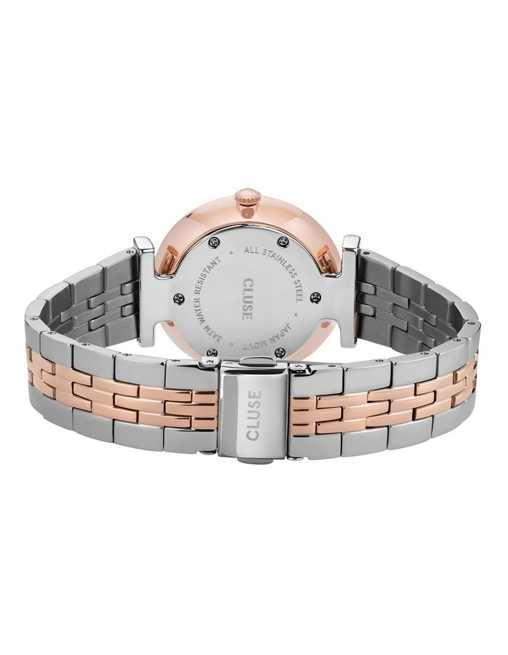 Triomphe CW0101208015 5-Link White Pearl Silver/Rose Gold Watch image 3