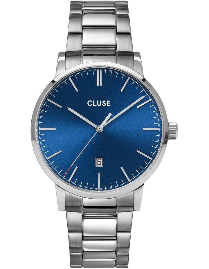 Aravis CW0101501011 Dark Blue Silver Link Watch image 1