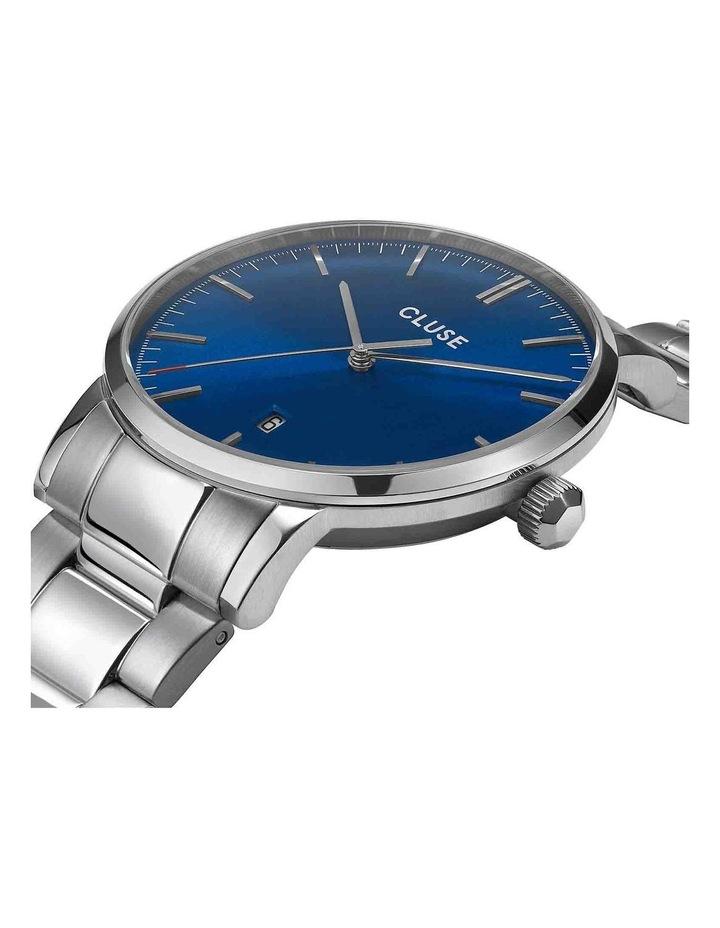 Aravis CW0101501011 Dark Blue Silver Link Watch image 2