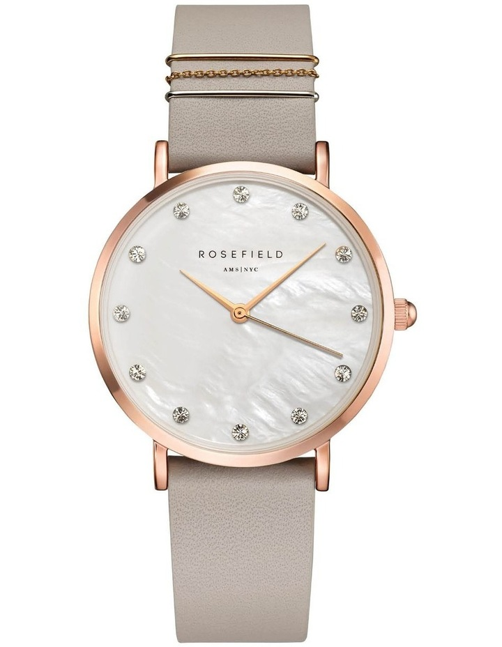Rosefield WPCGRG-W89 West Village Grey Watch image 1
